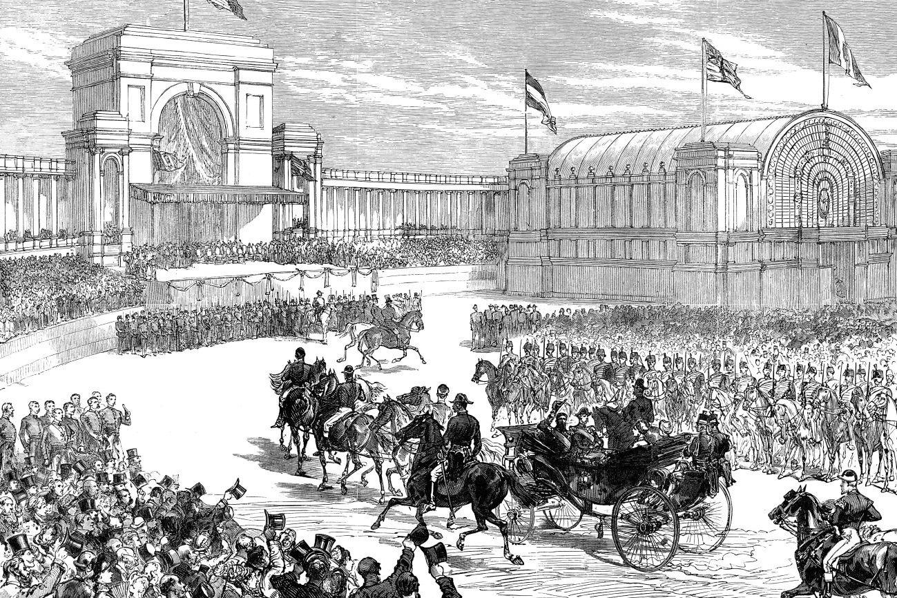 1880 - Célébration des 50 ans de la Belgique