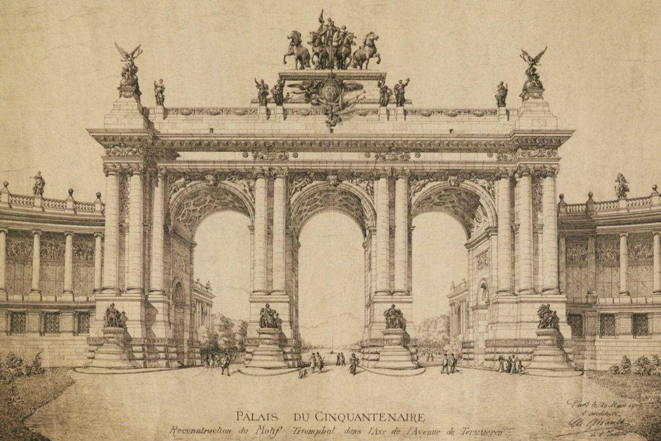 Arc de Triomphe du Cinquantenaire